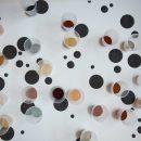 Installationsansicht Pigmente der Insel Elba