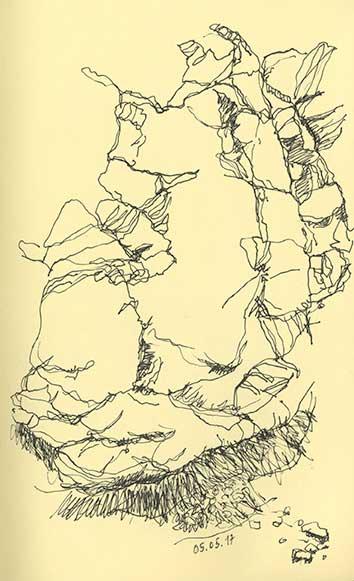4.zeichnung_Mineral 26b_La Gomera
