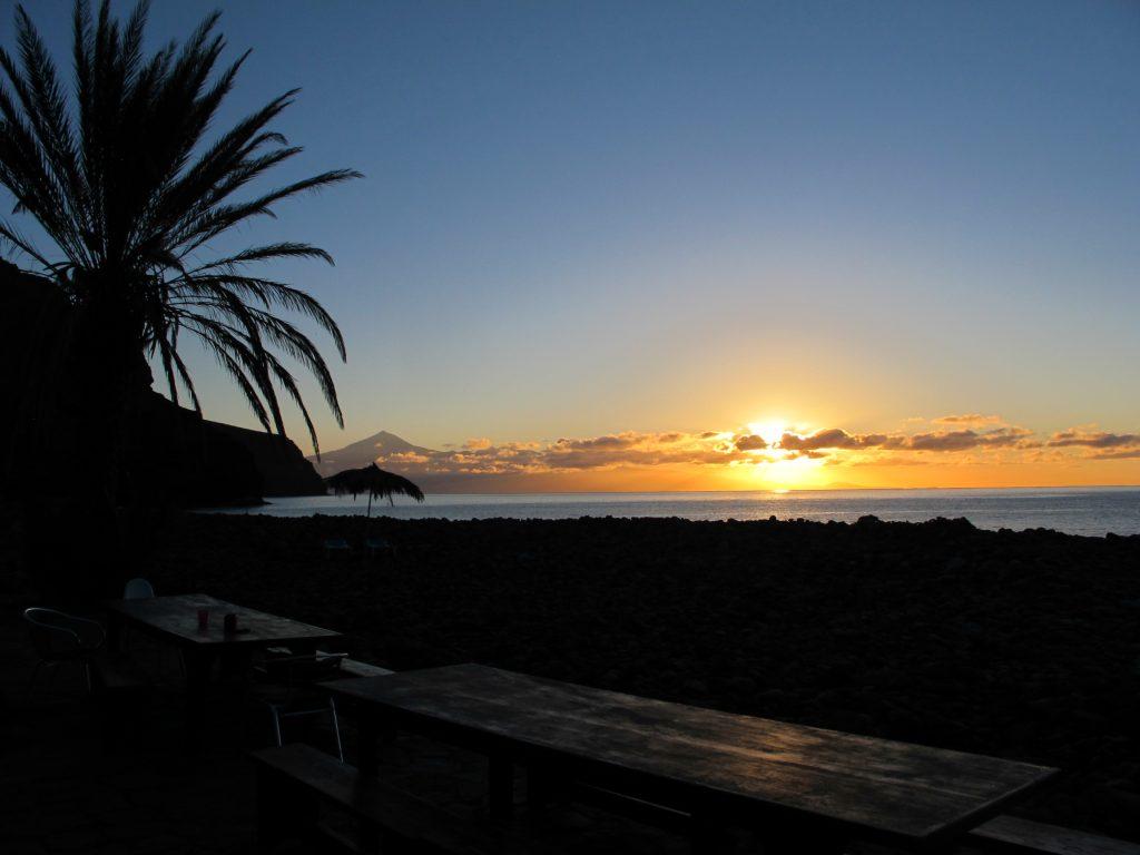 Sonnenaufgang El Cabrito